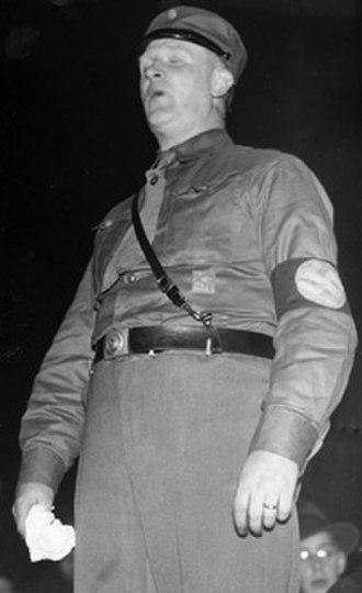 Swedish National Socialist Party - Birger Furugård, SNSP leader