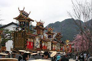Hida, Gifu - Furukawa Festival, held annually in April