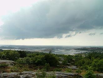 Archipelago of Gothenburg - Panoramic view across the Archipelago of Gothenburg (Göteborgs skärgård).