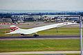 G-BOAE 2 Concorde 102 British Aws LHR 30JUN99 (6783785082).jpg