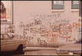 GRAFFITI ON A WALL IN CHICAGO. SUCH WRITING HAS ADVANCED AND BECOME AN ART FORM, PARTICULARLY IN METROPOLITAN AREAS.... - NARA - 556232.tif
