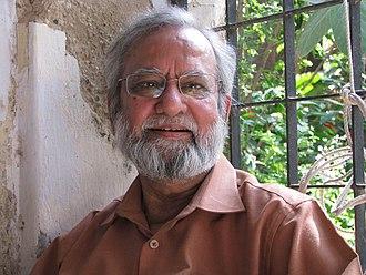 Gulam Mohammed Sheikh - at Ahmedabad, 2008