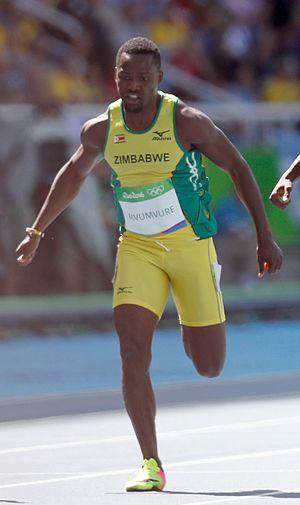 Gabriel Mvumvure - Mvumvure at the 2016 Olympics
