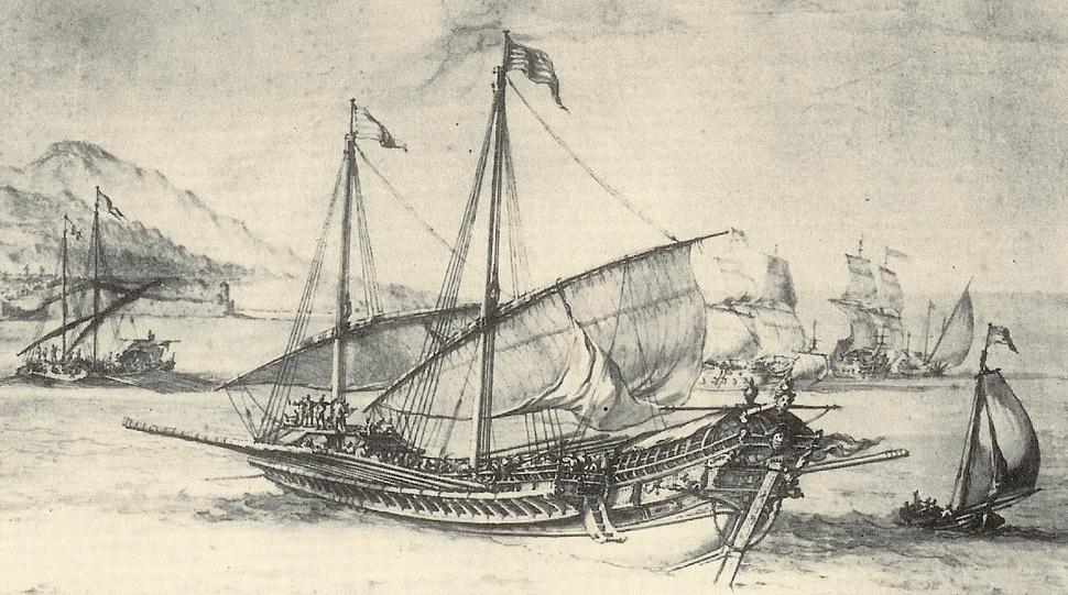 Galère - Pierre Puget 1655