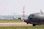 Galaxy & C130 - RAF Mildenhall (2548707406).jpg
