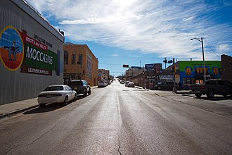 Gallup, New Mexico - Image: Gallup NM south 3rd street
