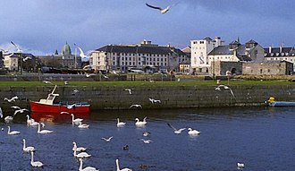 Water supply and sanitation in the Republic of Ireland - The city of Galway, supplied with water by the River Corrib, was subject to an outbreak of waterborne cryptosporidiosis in 2007