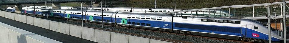 Gare de Belfort - Montb%C3%A9liard TGV 1er d%C3%A9cembre 2011 2