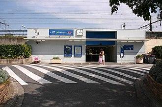 Le Vert de Maisons (Paris RER) - Le Vert de Maisons railway station