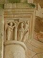 Gargilesse-Dampierre (36) Église Saint-Laurent et Notre-Dame Chapiteau 09.JPG
