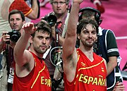 Gasol Brothers at the 2012 Summer Olympics.jpg
