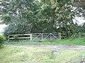Gated bridleway near Scleddau - geograph.org.uk - 1443835.jpg