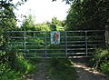 Gated entrance to private woodland. - geograph.org.uk - 522445.jpg