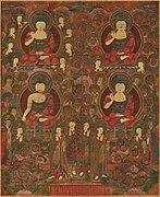 Gathering of Four Buddhas - Google Art Project.jpg