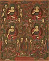 Gathering of Four Buddhas - Google Art Project.jpg
