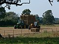 Gathering the straw - geograph.org.uk - 552297.jpg