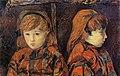 Gauguin Double portrait d'une fillette.jpg