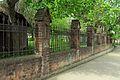 Gdańsk kościół Najświętszego Serca Jezusowego – ogrodzenie.jpg