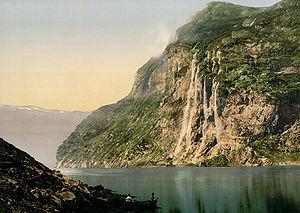 Geirangerfjord - Image: Geiranger Fjord Norway Fjord