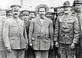 Gen Obregon, Villa, Pershing at Ft Bliss 1914.jpg