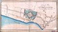 Generalplan zur Fortsetzung der Neuenweger-Strahse und Anlage eines Marktes in der Stadt Elberfeld durch Adolph von Vagedes, 1815.png