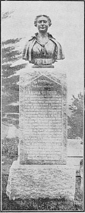 George Bryce - Laura Secord A Study in Canadian Patriotism - page 14 - Monument Erected to Laura Secord.jpg
