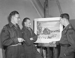 George Campbell Tinning Canadian war artist