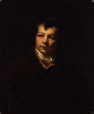 George Clint - Self-portrait by George Clint