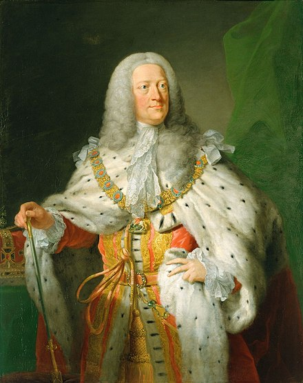 Portrait by John Shackleton, in or after 1755 George II 1755-1767.jpg