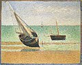 Georges Seurat - Low Tide at Grandcamp PC 155.jpg
