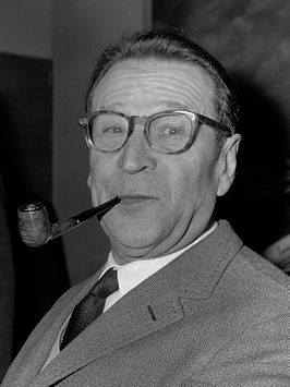 Georges Simenon in 1965