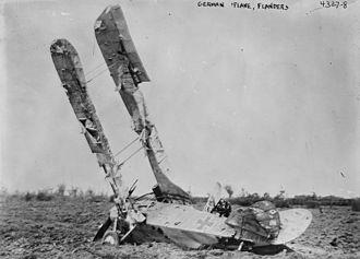 Rumpler C.I - C type crash in Belgium