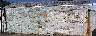 Geyserville, California - Mural of Geyserville