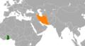 Ghana Iran Locator.png