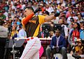Giancarlo Stanton competes in semis of '16 T-Mobile -HRDerby. (28496641331).jpg