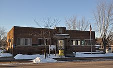 Village of Gilman Municipal Building, February 2015.