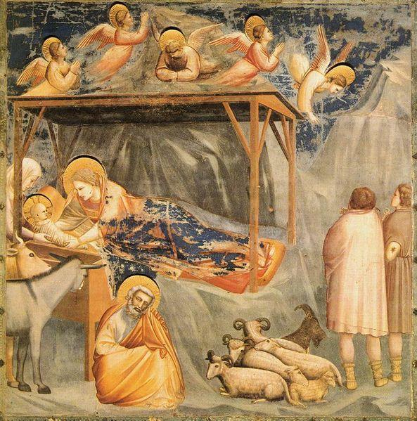 File:Giotto - Scrovegni - -17- - Nativity, Birth of Jesus.jpg