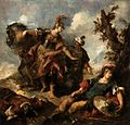 Giovanni Antonio Guardi - Herminia and Vaprino Find the Wounded Tancred - WGA10898.jpg
