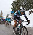Giro d'Italia 2013, brambilla ontsnapt net voor de top (17598820878).jpg