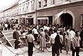 Gneča v Gosposki ulici 1962.jpg