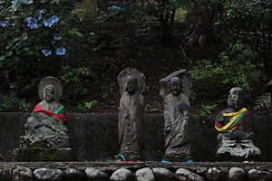Arhat - Gohyaku rakan - five hundred statues depicting arhats, at the Chōkei temple in Toyama