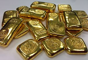 Store of value - Commodities such as gold are good stores of value