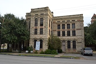 National Register of Historic Places listings in Gonzales County, Texas - Image: Gonzales County Jail, Gonzales, Texas