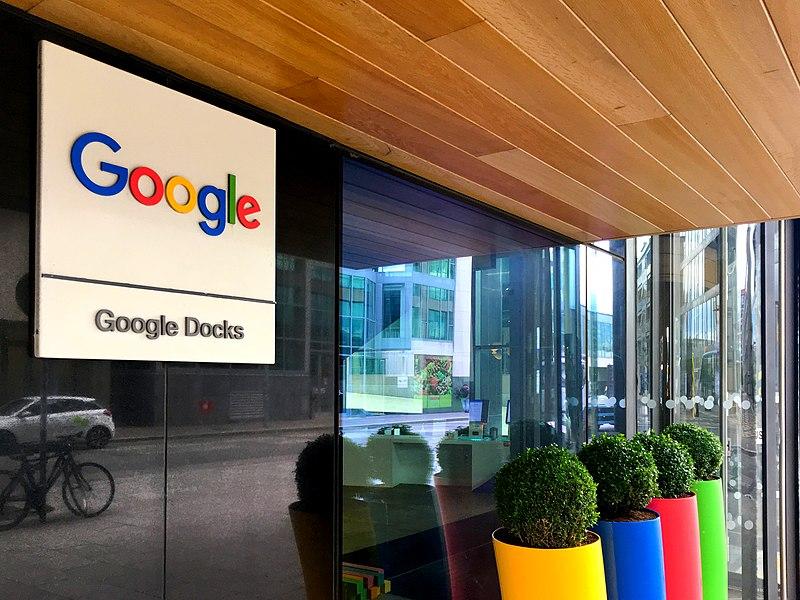 File:Google Headquarters in Ireland Building Front Entrance.jpg