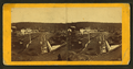 Gordon. (View of small town by railroad tracks.), from Robert N. Dennis collection of stereoscopic views.png