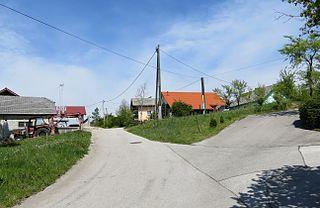 Gorenja Vas pri Čatežu Place in Lower Carniola, Slovenia