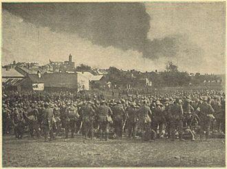 1st Landwehr Division (German Empire) - Image: Gorlice bitwa