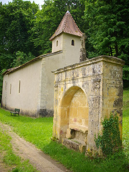 Saint Clement chapel of Gorze (Moselle, France) and aedicula