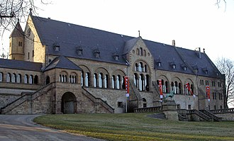 Palas - Palas of the Kaiserpfalz Goslar