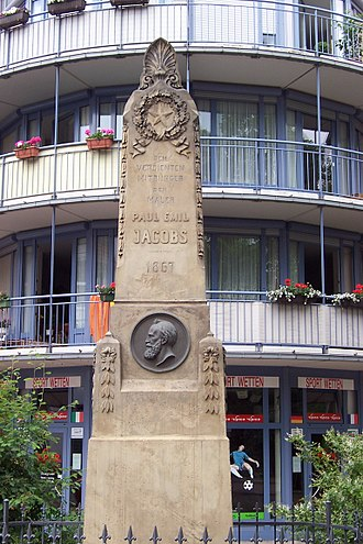 Paul Emil Jacobs - The Paul Emil Jacobs monument in Gotha